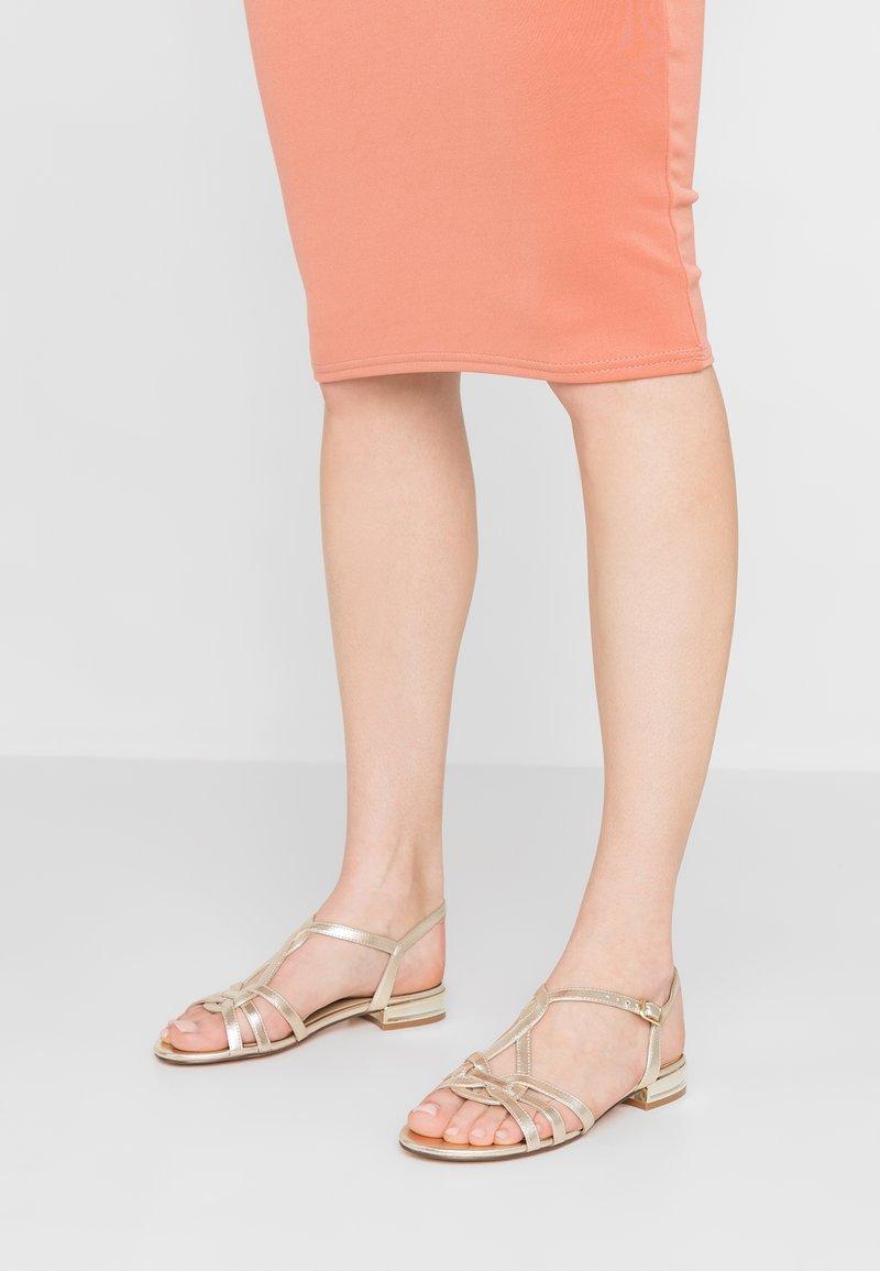 San Marina - GIAVANA - Sandals - gold