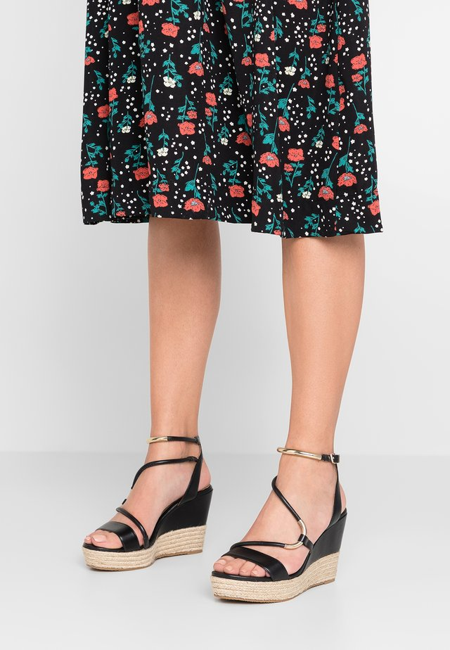 VALERINA - High heeled sandals - noir