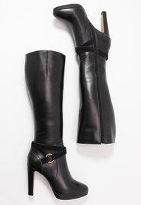 San Marina - EDISA - Boots med høye hæler - black - 3
