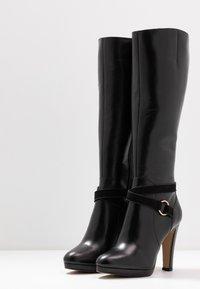 San Marina - EDISA - Boots med høye hæler - black - 4