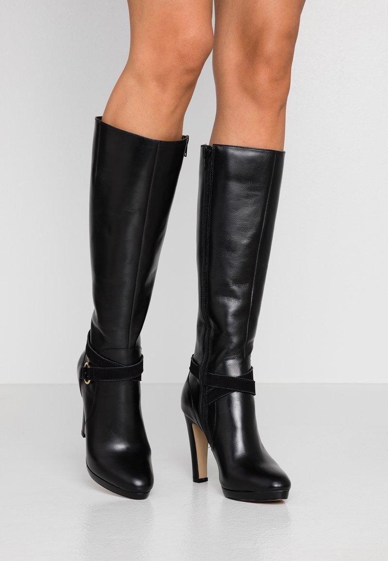 San Marina - EDISA - Boots med høye hæler - black