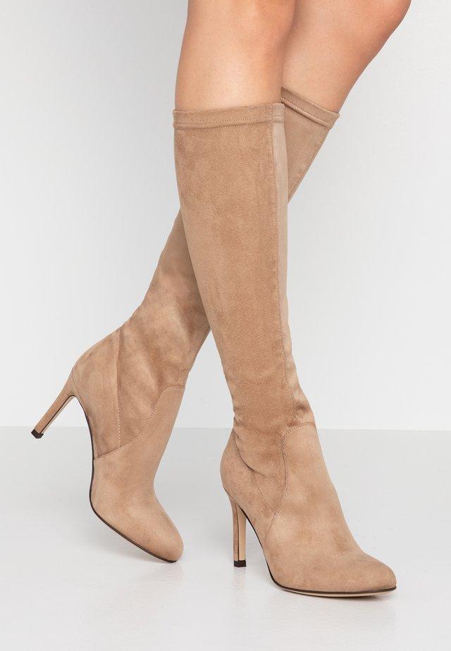 ARCADE - High heeled boots - taupe