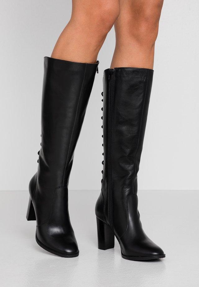 EGOISTE - Laarzen met hoge hak - noir