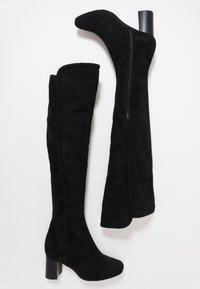 San Marina - ALEGATAN - Over-the-knee boots - black - 3