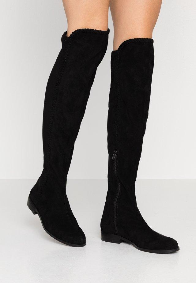 ALANEA - Overknee laarzen - black