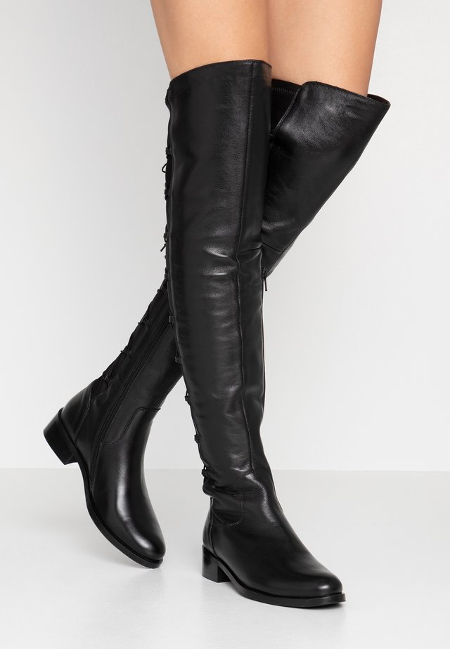 SANDRI - Over-the-knee boots - black