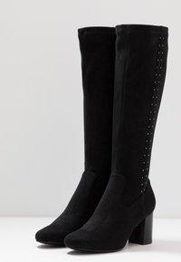 San Marina - ALEGOTO - Høje støvler/ Støvler - black - 4