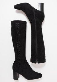 San Marina - ALEGOTO - Høje støvler/ Støvler - black - 3