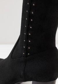 San Marina - ALEGOTO - Høje støvler/ Støvler - black - 2