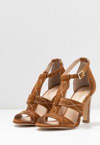 San Marina - ANNA - High heeled sandals - camel - 4