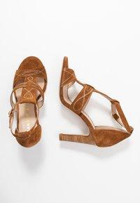 San Marina - ANNA - High heeled sandals - camel - 3