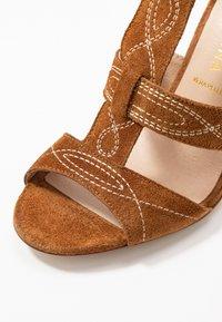 San Marina - ANNA - High heeled sandals - camel - 2