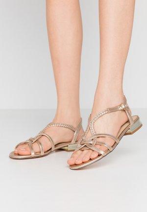 GIOVA - Sandals - gold