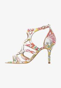 San Marina - EMBO EDEN - Korolliset sandaalit - blanc/multicolor - 1