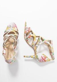 San Marina - EMBO EDEN - Korolliset sandaalit - blanc/multicolor - 3