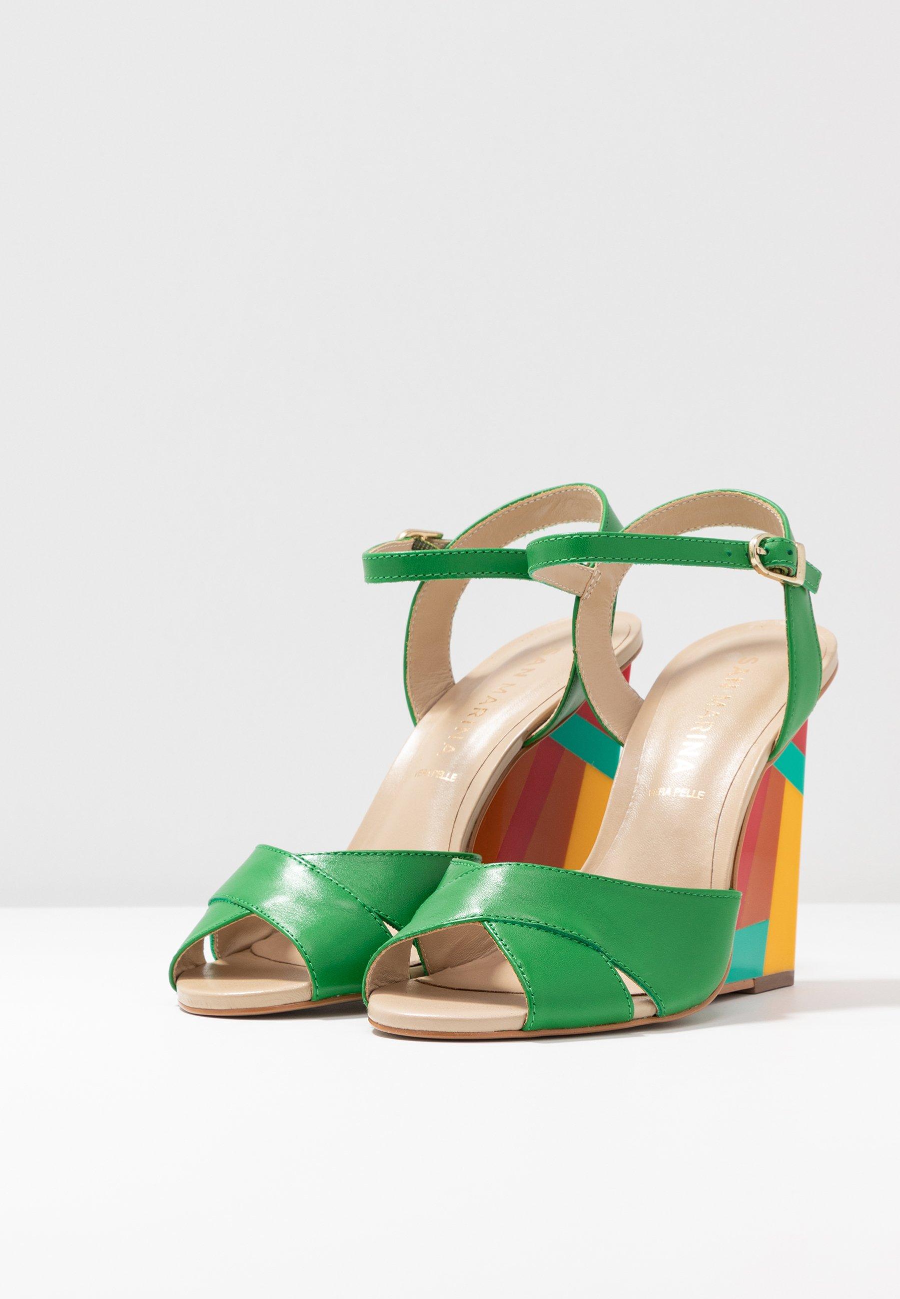 San Marina Vanini - High Heeled Sandals Menthe