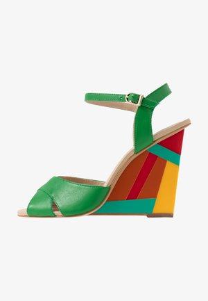 VANINI - High heeled sandals - menthe