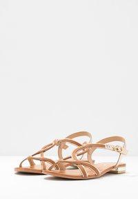 San Marina - IZIAVA - Sandals - camel/or - 4
