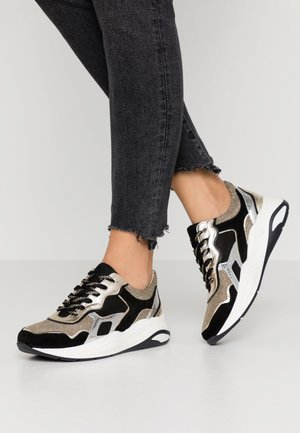 GUIOMAR - Sneakers basse - noir/or