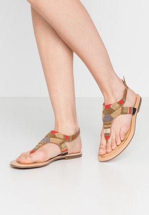 ITA - T-bar sandals - multicolor