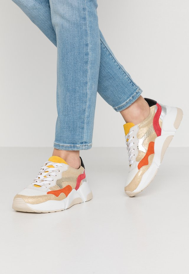 GALADIA - Sneakers - or/multicolor