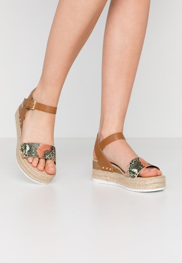 PATINI BURITI - Espadrilles - multicolor