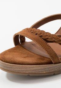 San Marina - DEBAINA - High heeled sandals - camel - 2