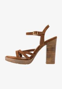 San Marina - DEBAINA - High heeled sandals - camel - 1