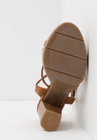 San Marina - DEBAINA - High heeled sandals - camel - 6