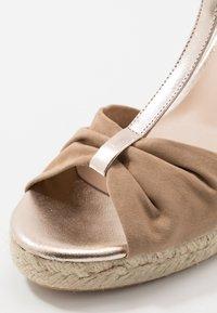 San Marina - LOTIS - High heeled sandals - sable/or - 2