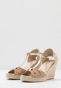 San Marina - LOTIS - High heeled sandals - sable/or - 4