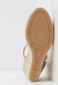 San Marina - LOTIS - High heeled sandals - sable/or - 6