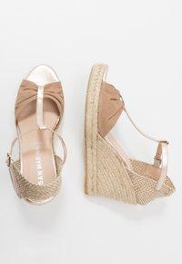 San Marina - LOTIS - High heeled sandals - sable/or - 3