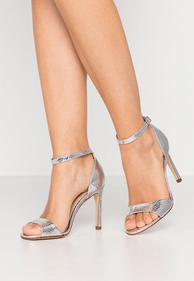 AVANALA - High heeled sandals - argent