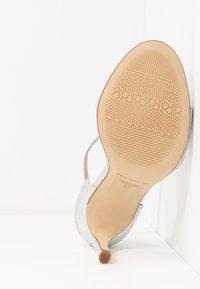 San Marina - AVANALA - High heeled sandals - argent - 6