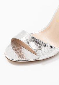 San Marina - AVANALA - High heeled sandals - argent - 2