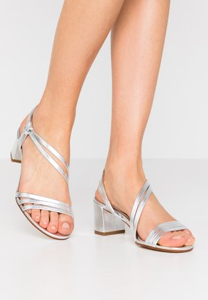 ANAIZA - Sandals - argent