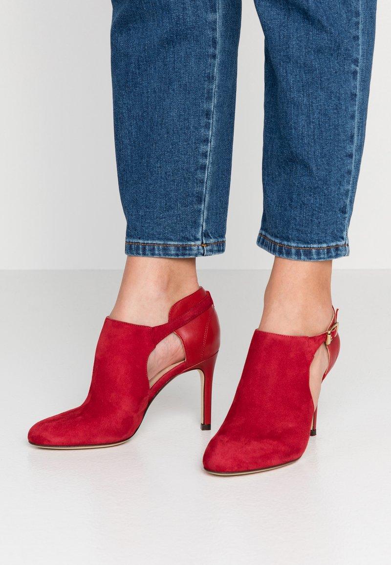 San Marina - AVISINA - High Heel Stiefelette - rouge