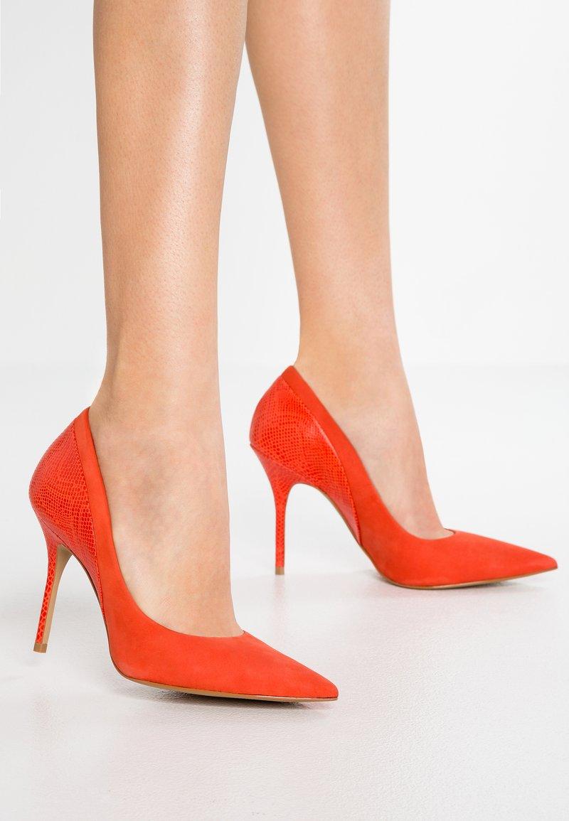San Marina - GALICIANA - High heels - corail