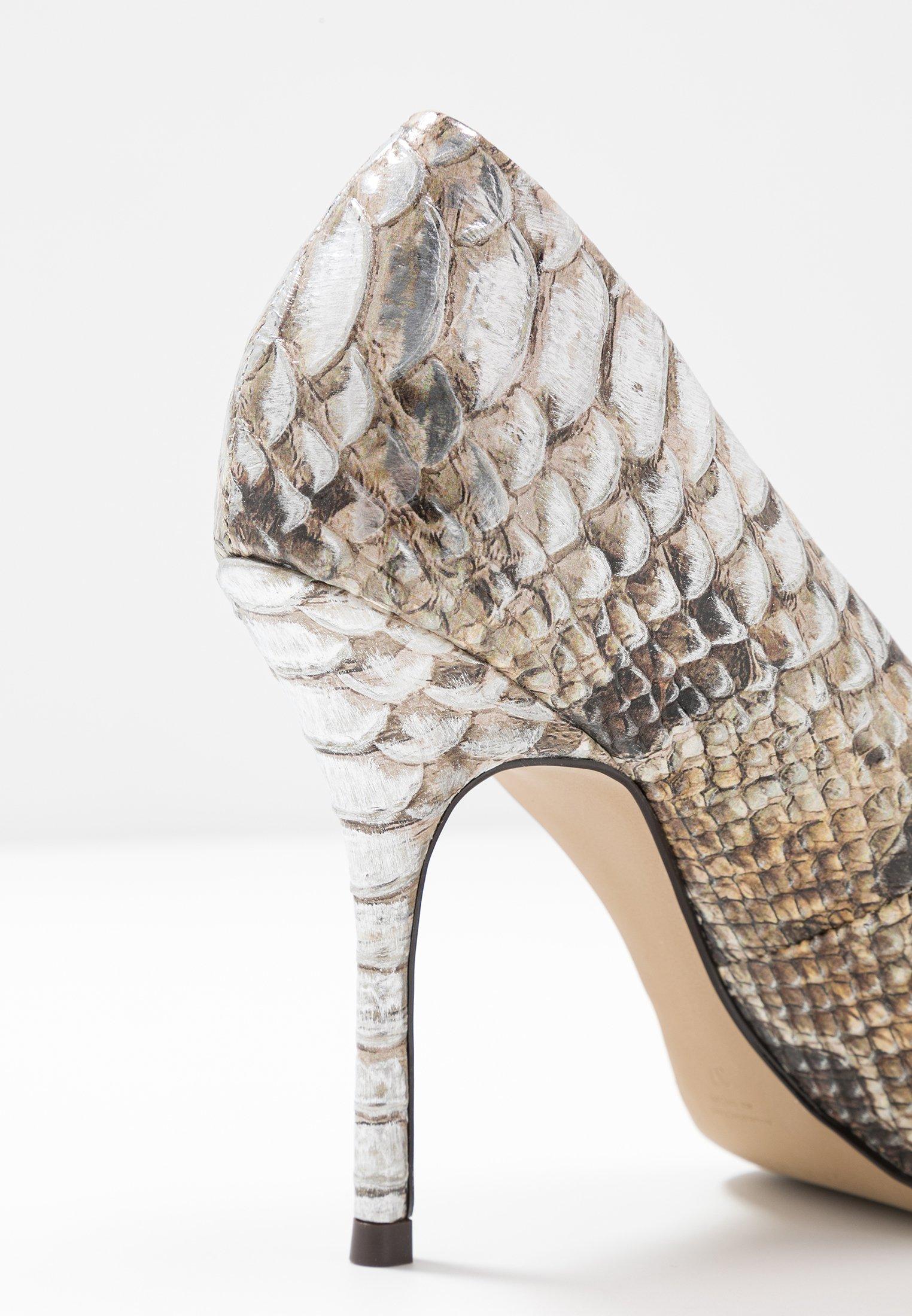 San Marina Galicia Snake - Escarpins À Talons Hauts Gold