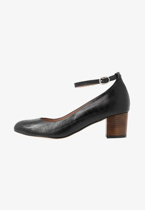 LAOZATA CROCO - Klassiske pumps - black