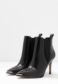 San Marina - VOTEFI - High heeled ankle boots - noir - 4
