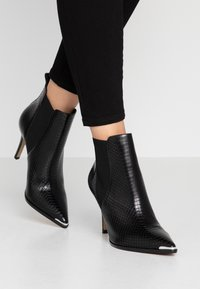 San Marina - VOTEFI - High heeled ankle boots - noir - 0