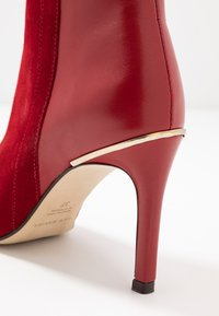San Marina - ALEPAL - High heeled ankle boots - red - 2