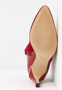 San Marina - ALEPAL - High heeled ankle boots - red - 6
