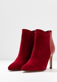 San Marina - ALEPAL - High heeled ankle boots - red - 4