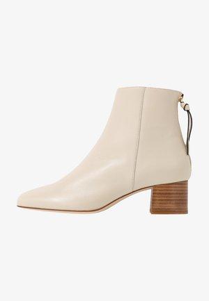 ALECITA - Kotníkové boty - blanc