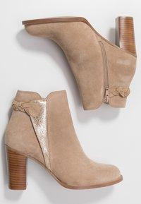 San Marina - ANDITA - Ankle boots - sable/or - 3