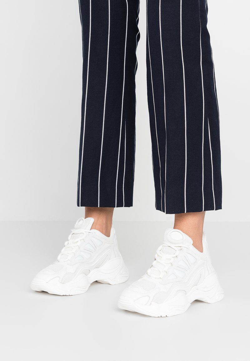 sandro - ASTRO - Sneakers laag - blanc
