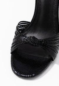 sandro - High heeled sandals - noir - 2